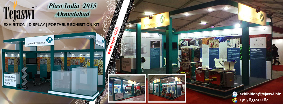 Exhibition Stand Construction Gandhinagar, Plastindia