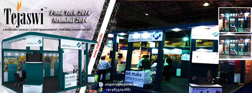 Exhibition Stand Construction Mumbai, Foodtech