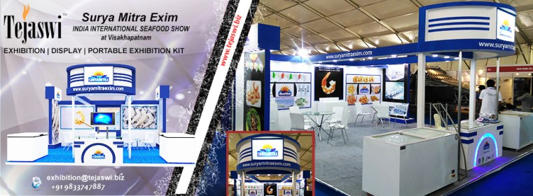 Exhibition Stall Designer Vizag India International Seafood Show