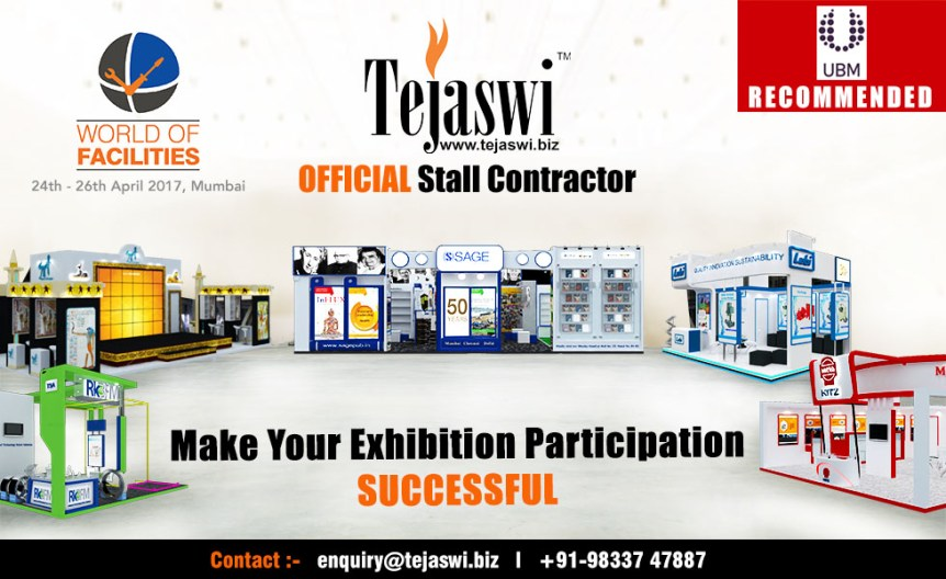 World of Facilities Expo Authorized Exhibition Stall Contractor Mumbai