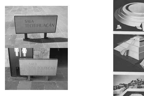 Letreros 2 from the series Notes on the Total Destruction of the National Museum of Anthropology, 2014– Courtesy of Eduardo Abaroa