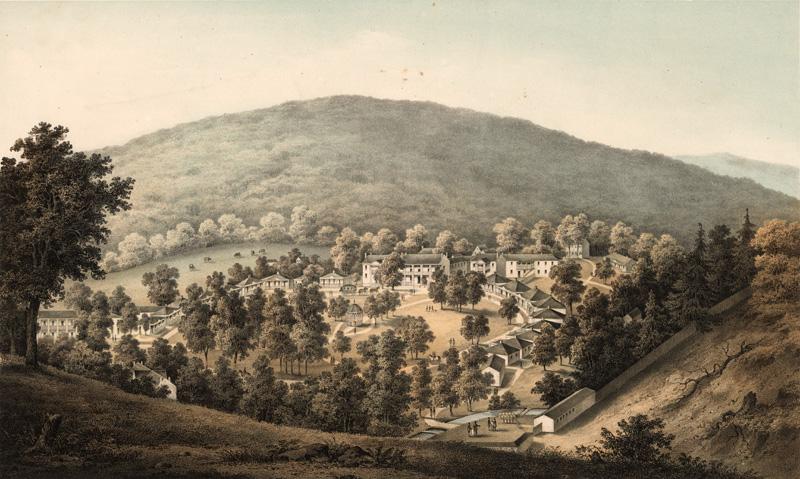 Rockbridge Alum Springs Taking The Waters 19th Century