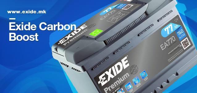 Exide Premium Carbon Boost – Енергија без компромис!