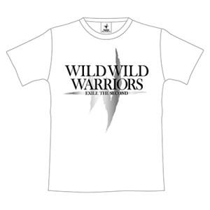 WILD WILD WARRIORS ツアーTシャツ(WHITE)