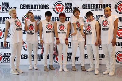GENERATIONS ライブ MAD CYCLONE dTV