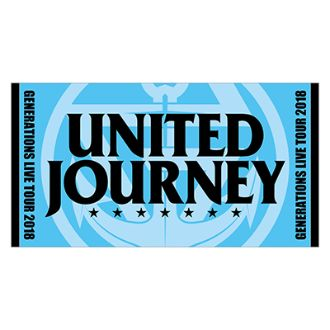 GENERATIONS UNITED JOURNEY ライブグッズ UNITED JOURNEY ビーチタオル