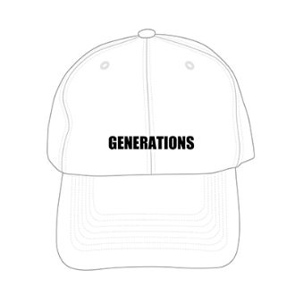 GENERATIONS UNITED JOURNEY ライブグッズ UNITED JOURNEY CAP
