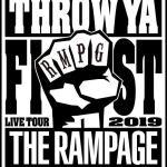 THE RAMPAGEライブグッズ情報2019『THROW YA FIST』発売日、通販、会場限定などまとめ!
