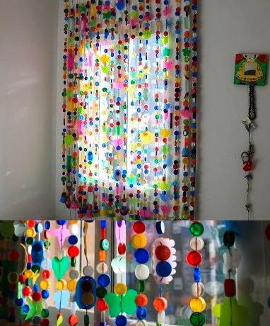 Una cortina muy especial  EcoBrico