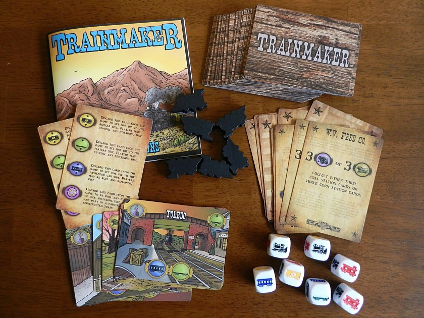 Trainmaker components
