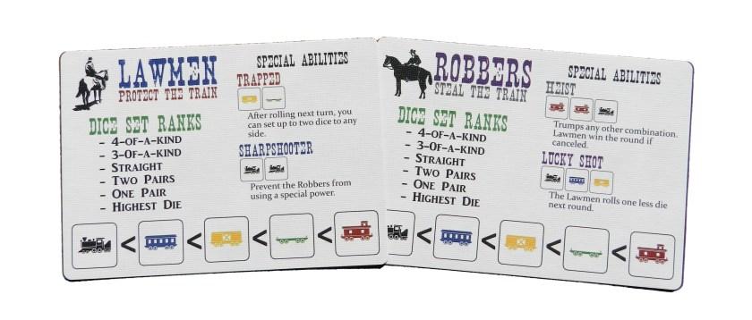 Trainmaker Lawmen vs. Robbers mini game
