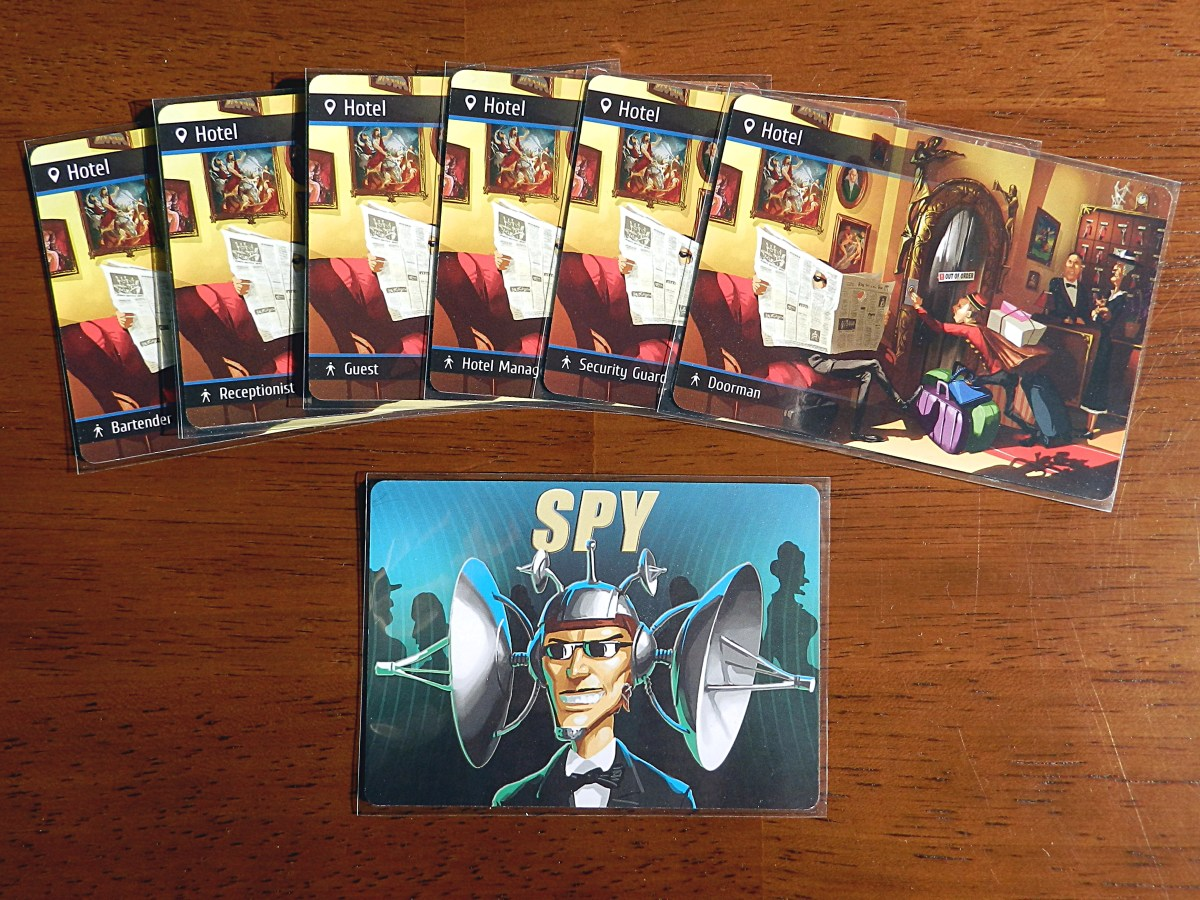 Spyfall: A game of suspicion and sangfroid
