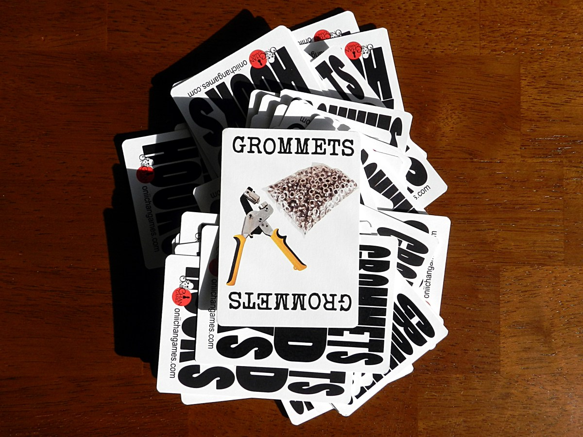 Feast your eyelets on the Grommets and Hooks card game