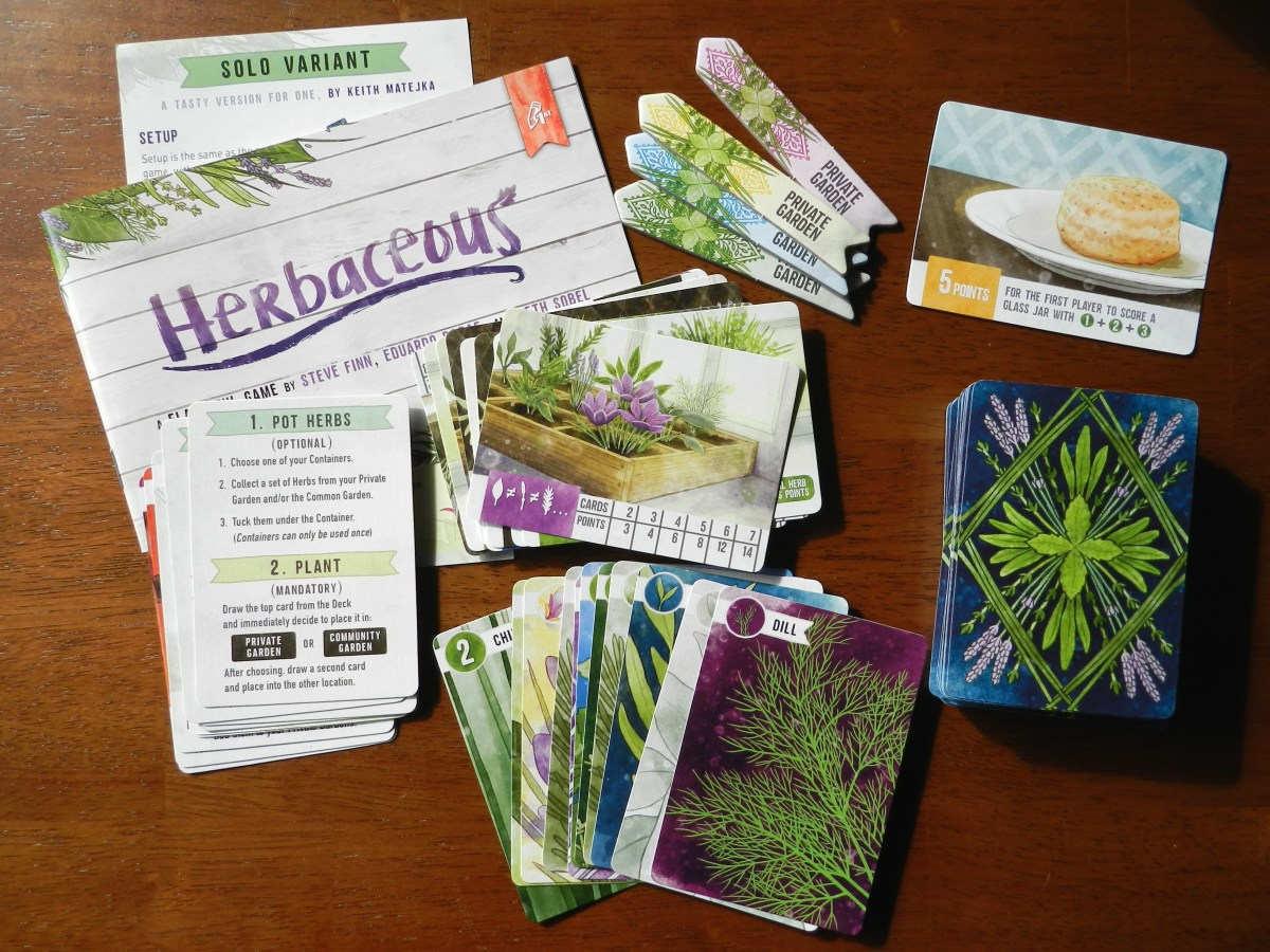Herbaceous: A card game where you play chicken with seasonings