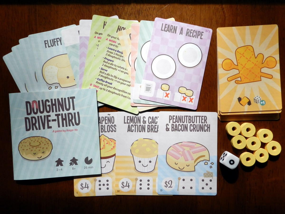 Games you can play for dessert: Doughnut Drive-Thru
