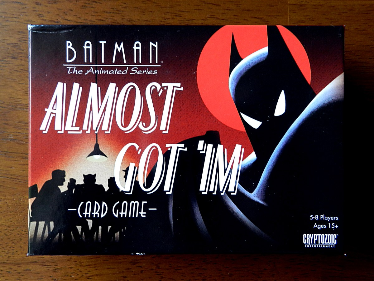 Almost Got 'im Card Game – Games based on Batman: The Animated Series, Part 3