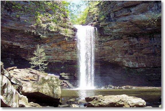 Cedar Falls at Petit Jean State Park, Arkansas