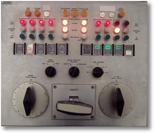 reactor rod control panel