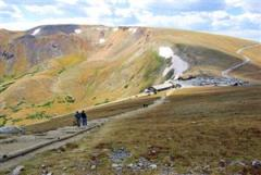 Trail from visitor center to over 12,000 feet!