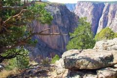 black canyon of the gunnison - north rim