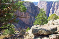 black canyon of the gunnison - north rim