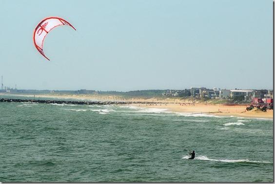 Kite Surfer, Virginia Beach, Virginia, May 10, 2009