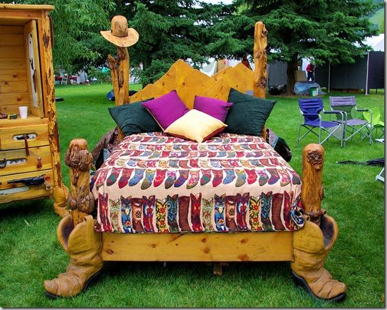 big western bed