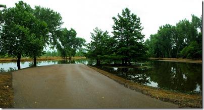 Indian Cave State Park, Nebraska, flooding of the Missouri