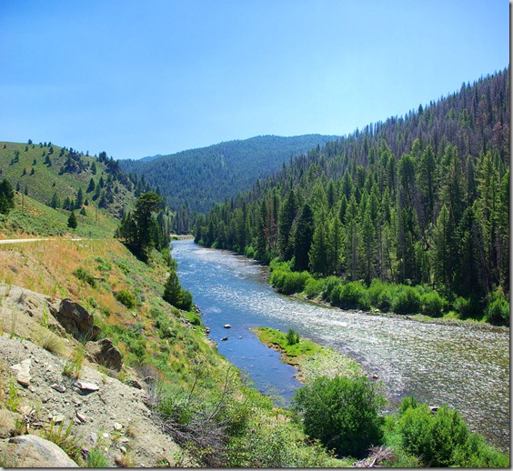 Along the Salmon River, Idaho