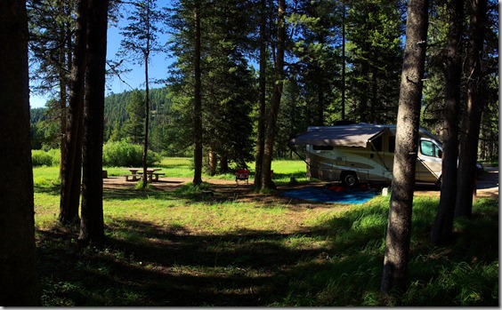 May Creek Campground, Montana