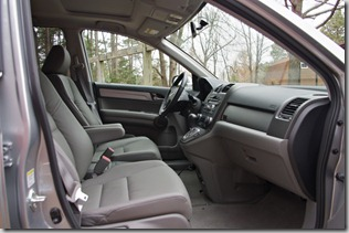 2010 honda cr-v interior