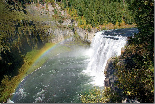 Upper Mesa Falls, Henrys Fork of the Snake River, Idaho