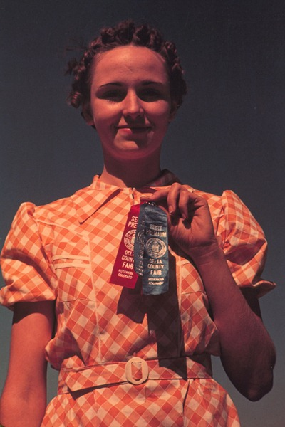 Winner at the 1940 Delta County Fair, Colorado