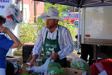 Farmers' Market, Great Falls Montana, September 1, 2007