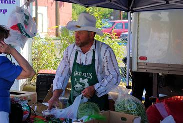 Farmers' Market, Great Falls Montana, September 1, 2007