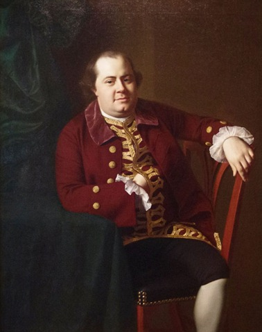 Colonial ship owner and merchant, Daniel Rogers, by John Singleton Copley – 1767; Crystal Bridges Museum of American Art