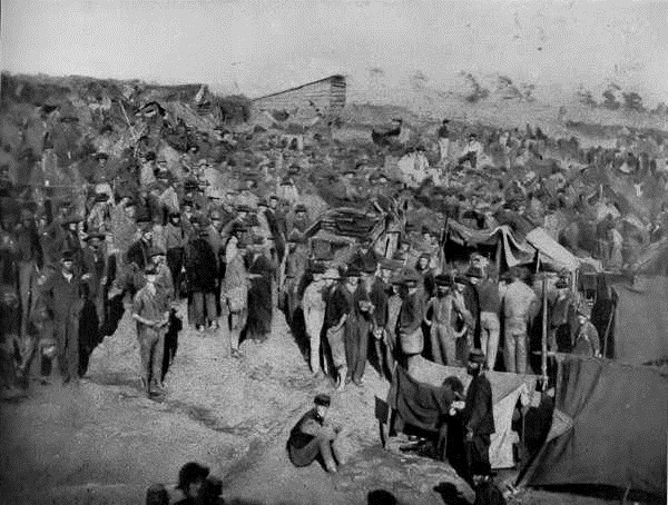 andersonville, camp sumter, pow camp
