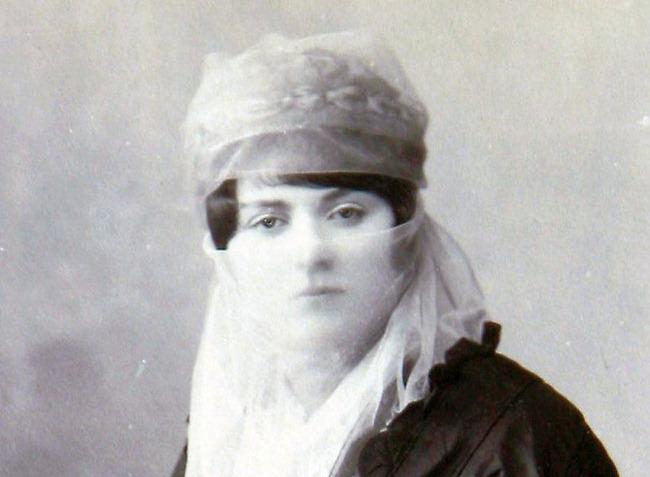 Turkish woman, circa 1860-1870
