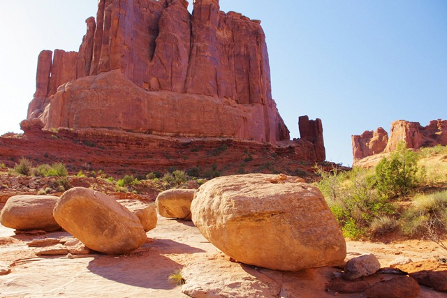 Park Avenue Rocks, Park Avenue, Arches National Park, September 27, 2011