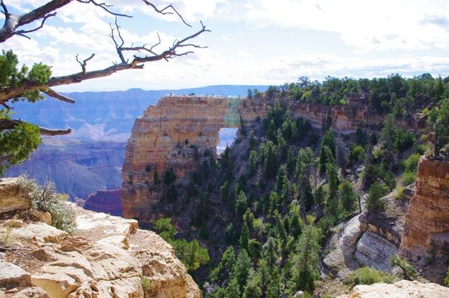 Angel's Window, North Rim, Grand Canyon National Park, Arizona, October 4, 2011