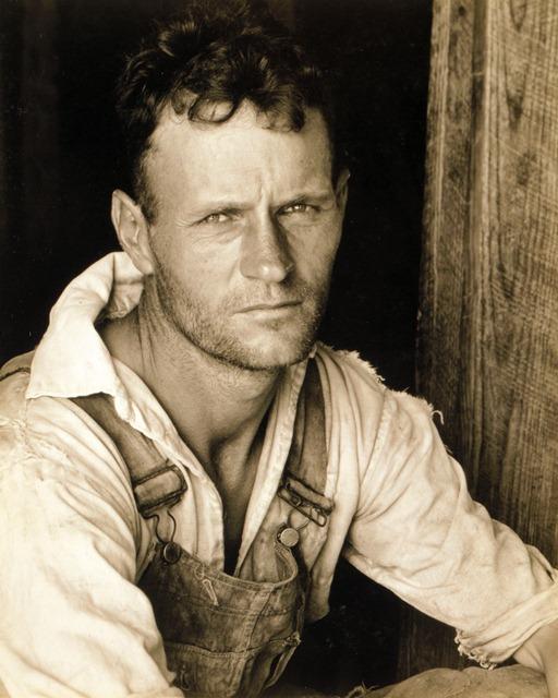 Floyd Burroughs, sharecropper