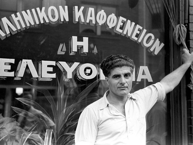 Proprietor of a Greek coffee shop, Aliquippa, Penn