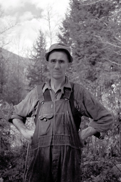 man was probably from Nicholson Hollow, Virginia October 1935
