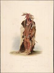 Wahktageli a Dacota Indian by Karl Bodmer 1005232