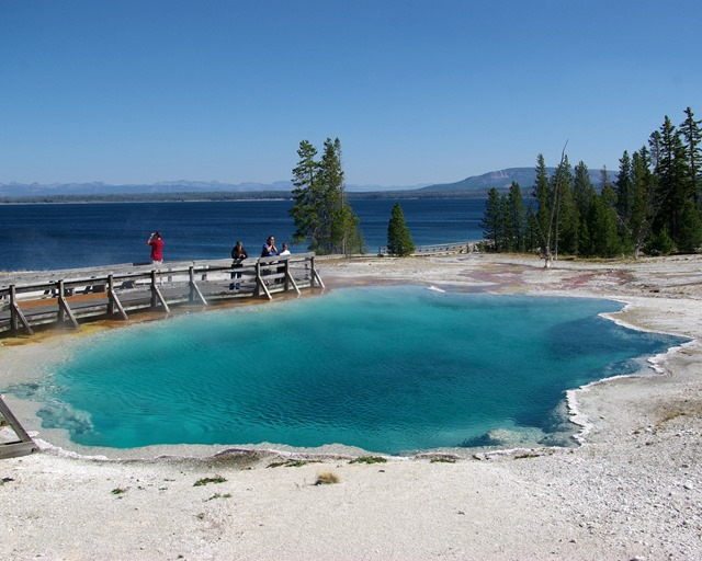 Black Pool, West Thumb, Yellowstone National Park, Wyoming, September 12, 2007