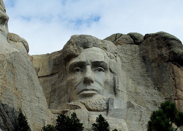 Lincoln, Mt. Rushmore, South Dakota, August 22, 2007