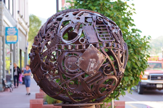 'Pea' by Laszlo Palos, Manitou Springs, Colorado, September 10, 2011