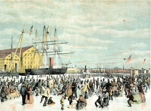 1856 -- Coldest Winter on Record