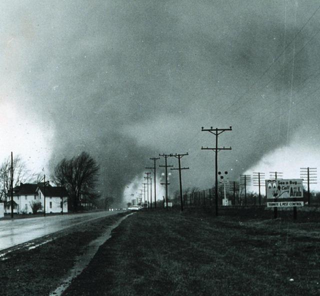 April 11, 1965, Palm Sunday Tornado Outbreak