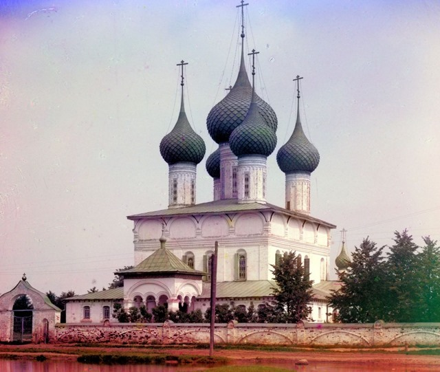 (Summer) Church of the Fedorov Mother of God. Yaroslavl